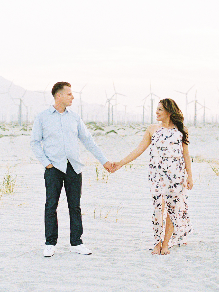Alexis Ralston | Desert Engagement Session | Windfarm Session | Intimate Desert Inspiration | Palm Springs Engagement | Wedding Inspiration | What to Wear 058.jpg