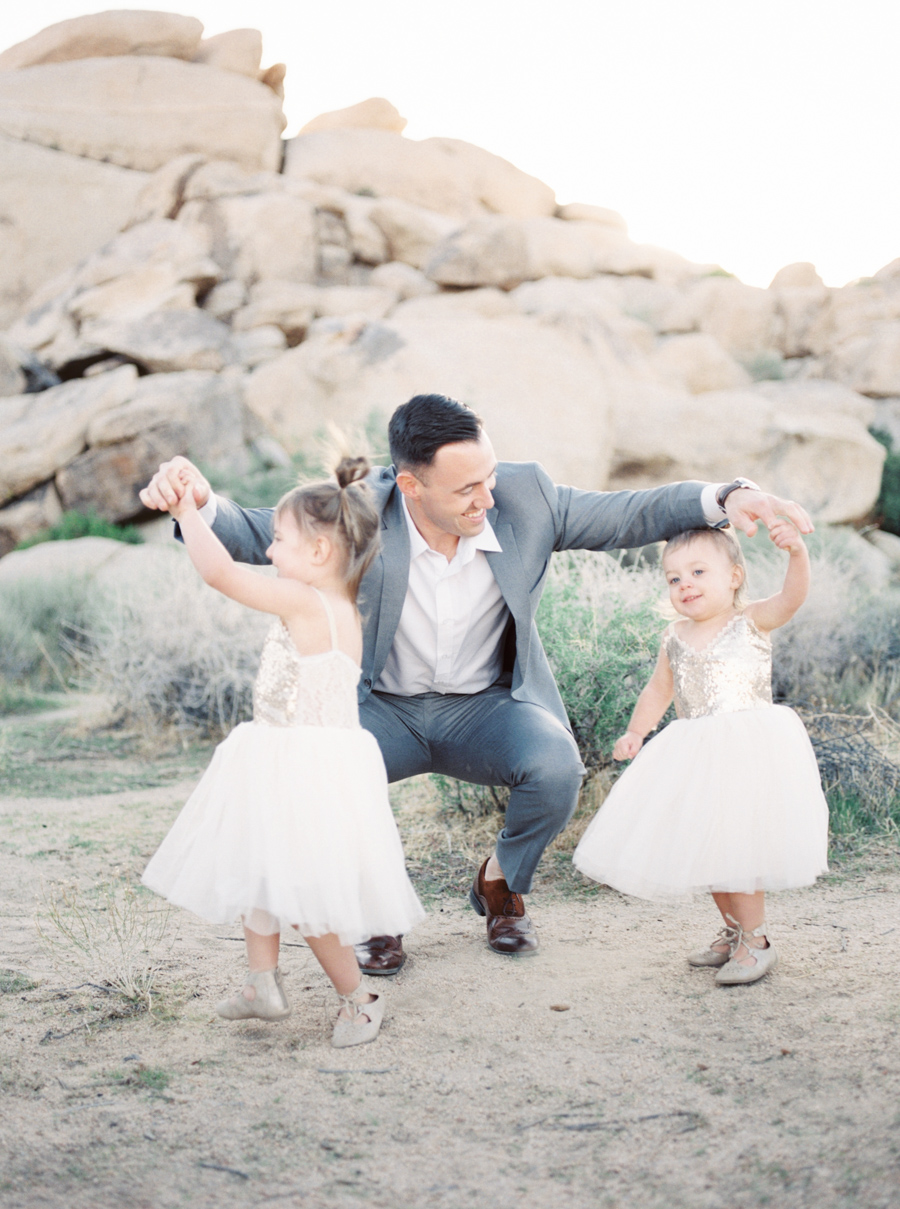 Alexis Ralston Photography | Joshua Tree Family Photographer | Vici Dolls Dress | Family Portraits | What to Wear | Film Photographer | Contax 645 | Palm Springs Family Photographer | Daddy Daughter Session 001.jpg