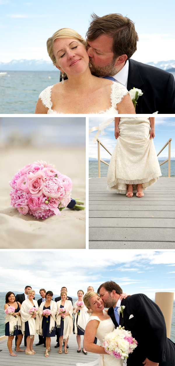 Images of Rachel & John's Beachfront Wedding