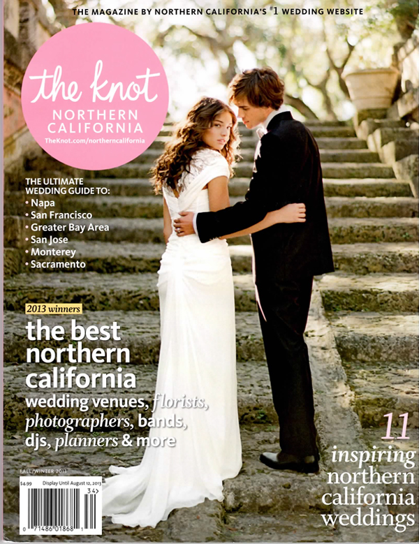 The Knot Northern California Magazine featuring One Fine Day Events