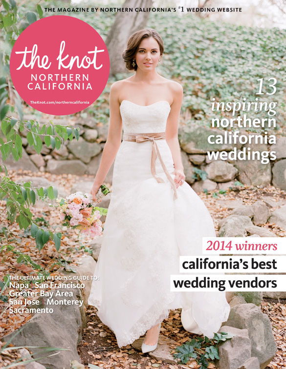Lake Tahoe wedding featured in the Knot Magazine