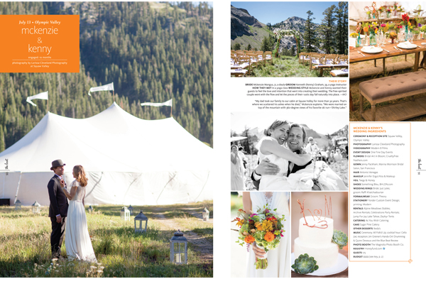 Vintage inspired wedding at the Squaw Valley Stables