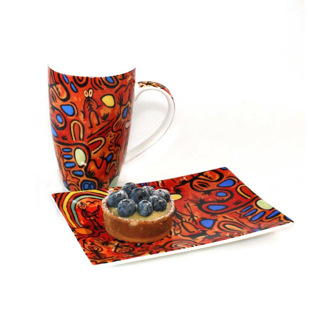 Mug and plate design