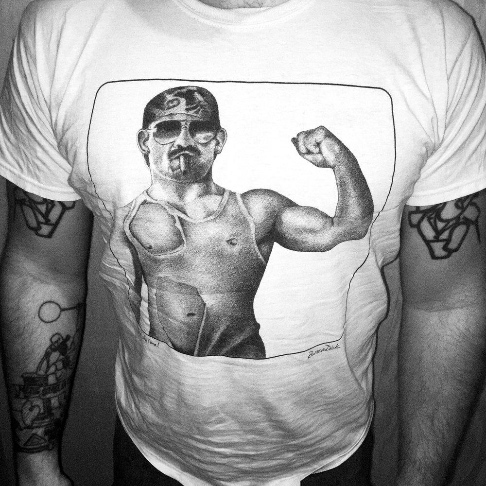'Tit Animal' T-shirt by ButchDick