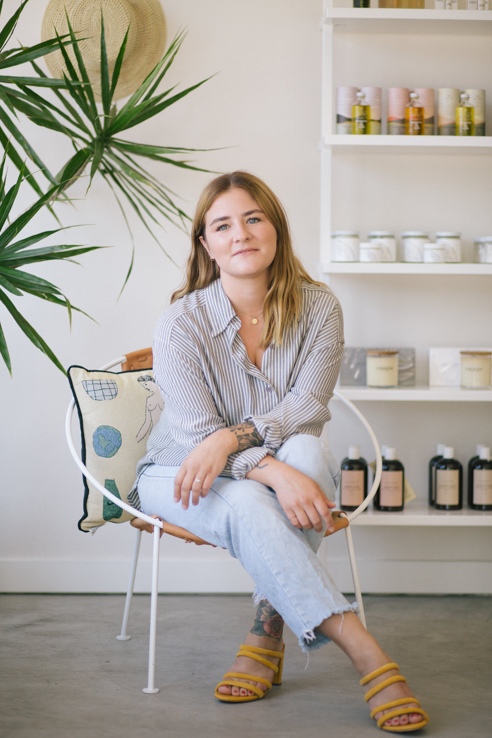 We are much stronger together than separate. - I work with my neighbors, and fellow girl bosses, at Little Dame to coordinate events like 'Fem Block Flea Market' to bring together other female creatives in our community.- Alex Hall, Owner of Maven SD
