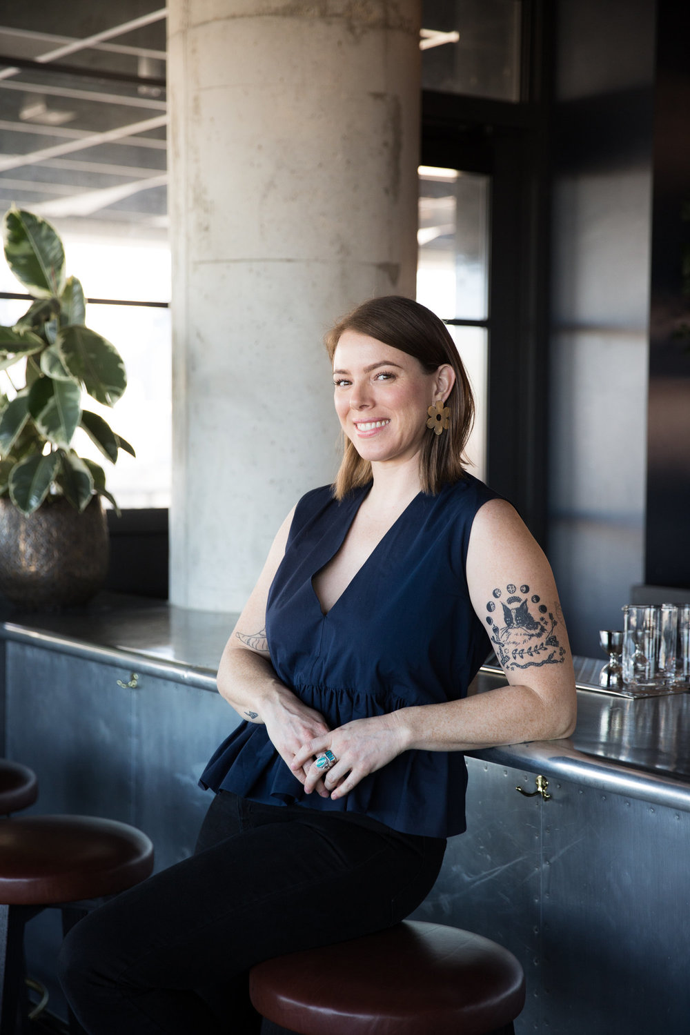 Shelby Allison - Shelby Allison co-owns Lost Lake, a tropical cocktail bar in Chicago that opened in 2015 and has thrice been a James Beard Foundation semifinalist for Outstanding Bar Program (2016, 2017, 2018), as well as one of Esquire's Best Bars in America (2017). Shelby is also a co-owner of Banana Daiquiri, LLC, a creative partnership and consulting company that builds unique cocktail programs and immersive guest experiences for clients around the country. Shelby co-founded Chicago Style, a forward-thinking cocktail conference centered on equity, safety, and sustainability, as well as #SHIFTEASE, a monthly charitable party at Lost Lake that supports local Chicago organizations working for progressive racial, economic and gender justice. She is also a founding board member of the Chicago Period Project, an aspiring non-profit that helps Chicago's homeless and in-need people experience their periods with dignity.