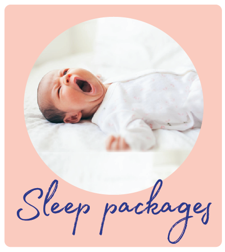 """Our tailor-made sleep packages are designed to suit your parenting style and to get back the sleep that you deserve.  We believe that each baby is an individual and that a """" one size fits all""""  approach to sleep training doesn't work."""