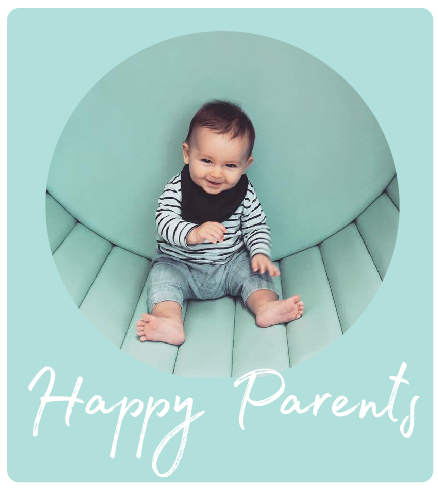 """""""The improvement was noticeable within a few days and very quickly he was sleeping through the night and settling himself. I could not recommend Bubba Bedtime services more.""""       Vanessa & Bubba Sebby 6 months"""