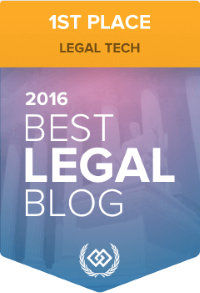 Best Legal Blog contest