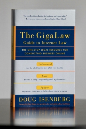 The GigaLaw Guide to Internet Law by Doug Isenberg (Random House, 2002)