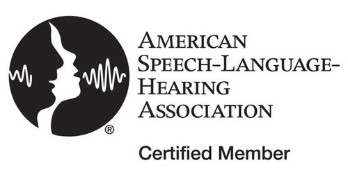 ASHA certified member, online speech therapy