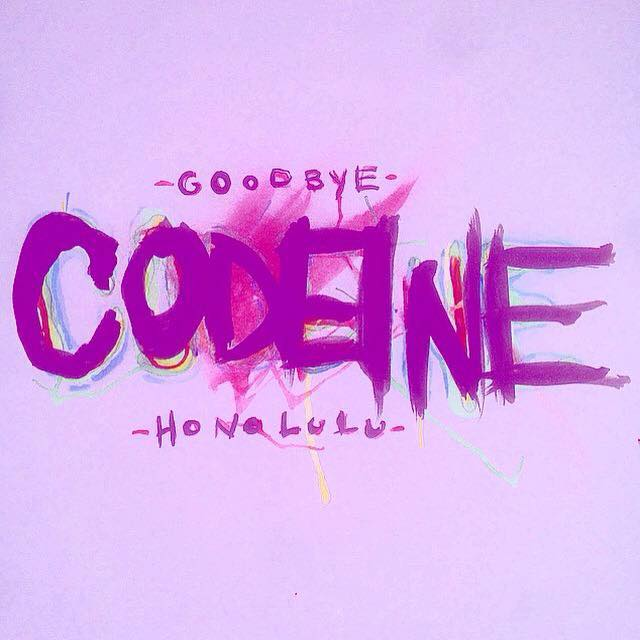 Codeine (Single) - Goodbye Honolulu - Contributing Songwriter, Drums, Percussion, Background Vocals