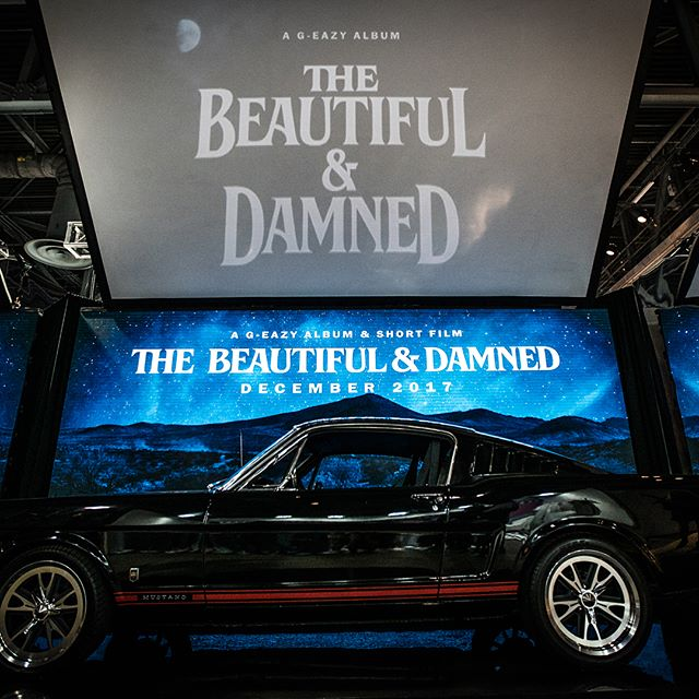 Original content for @g_eazy's visual installment @complexcon this weekend. 'The Beautiful and Damned' -- LED / Projections / Mirror and Water Reflections. Thanks to the team on this one! Cc: @2mattyb @ivormccray @connormoy_ and @daniel 📸: @dkessler