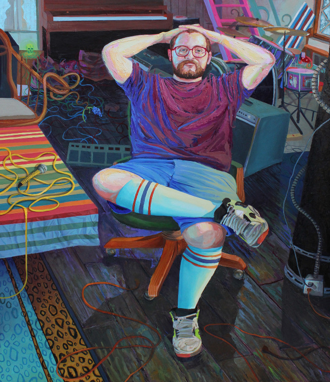"""Portrait of Dan Deacon"""