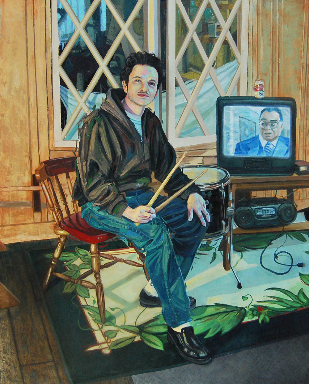 """Portrait of Ed Schrader"""