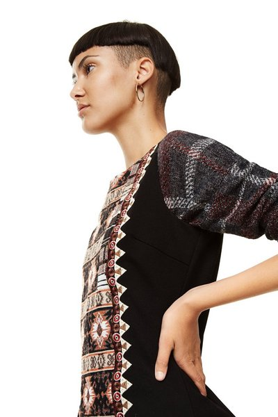 Desigual Negro Kaky available from our Broadbeach Store Style # 17WWVW44