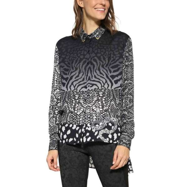 Desigual Lena Blouse. Available in our Broadbeach store.Style #17WWCW69