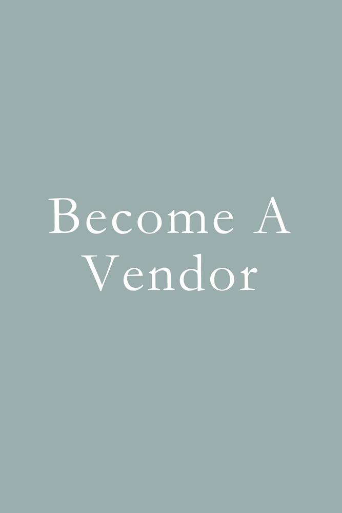 Become a Vendor