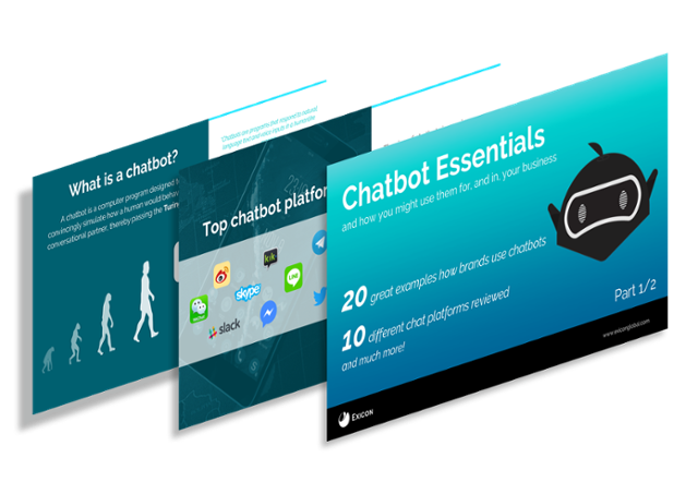 Our Free premium guide to Chatbots   20   great examples of how to use chatbots for your brandand much, much more!