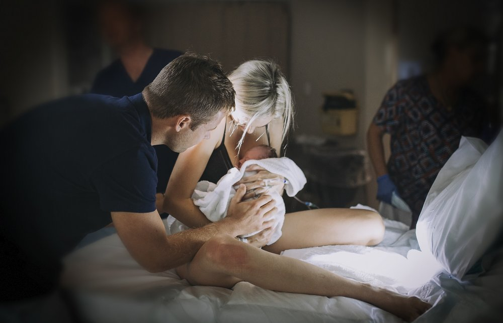 Just born holding hadley.jpg