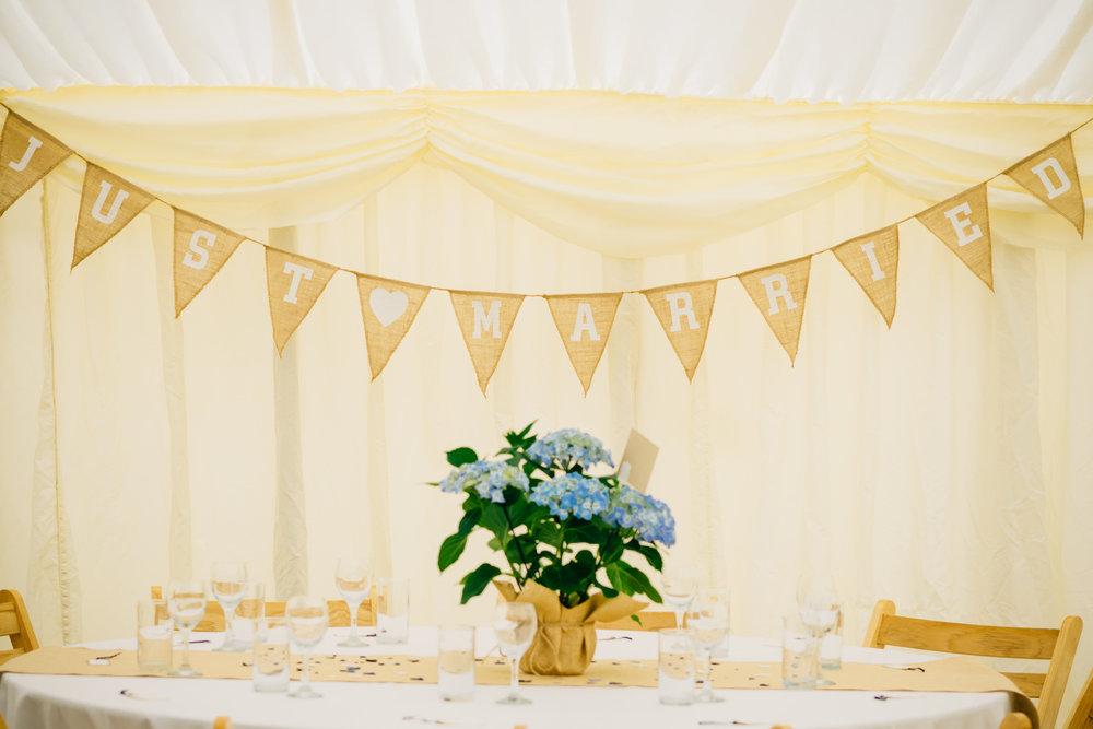 Lancashire Farm Marquee Wedding