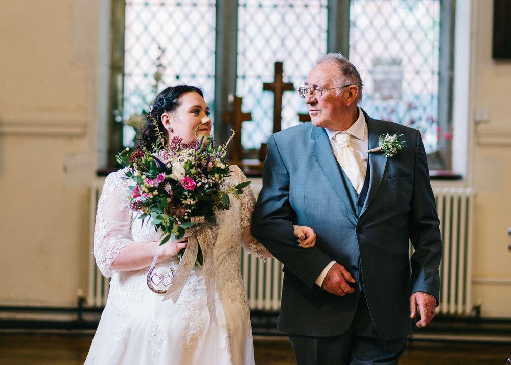 Wild flower & woodland theme wedding in manchester13