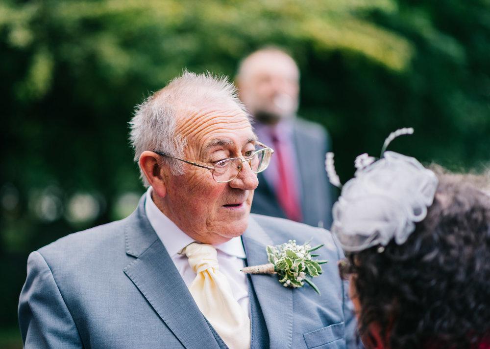 Wild flower & woodland theme wedding in manchester19