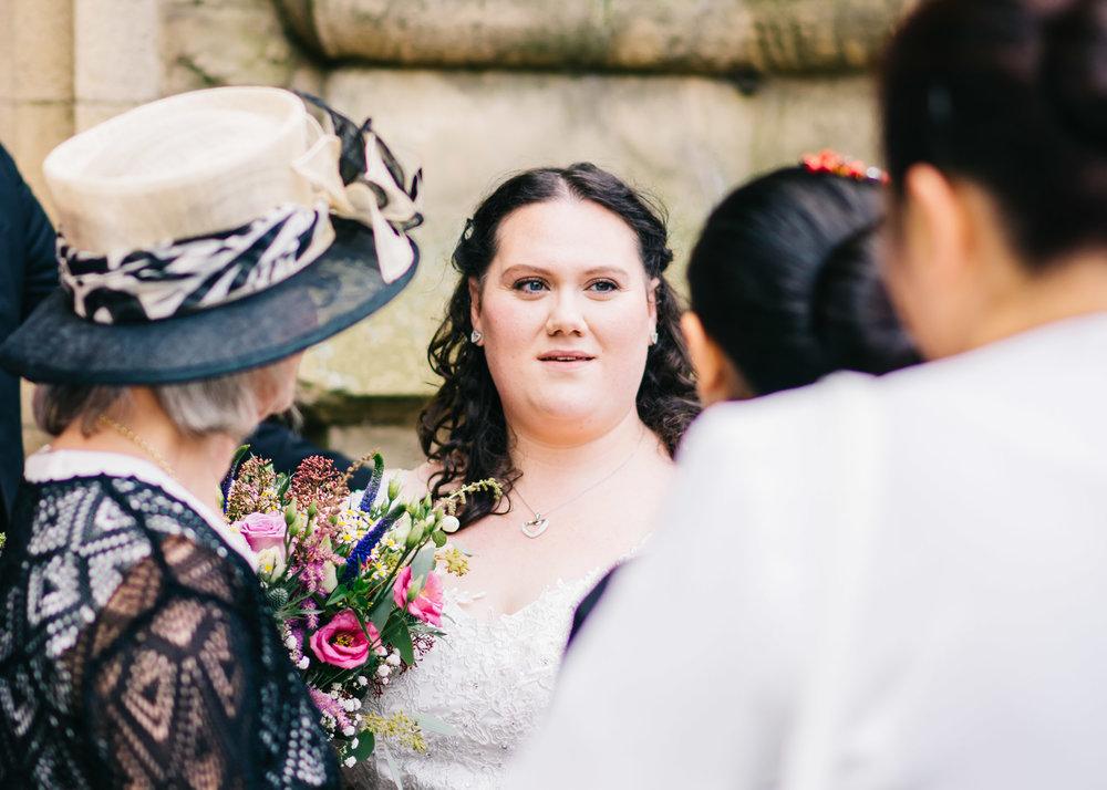 Wild flower & woodland theme wedding in manchester18