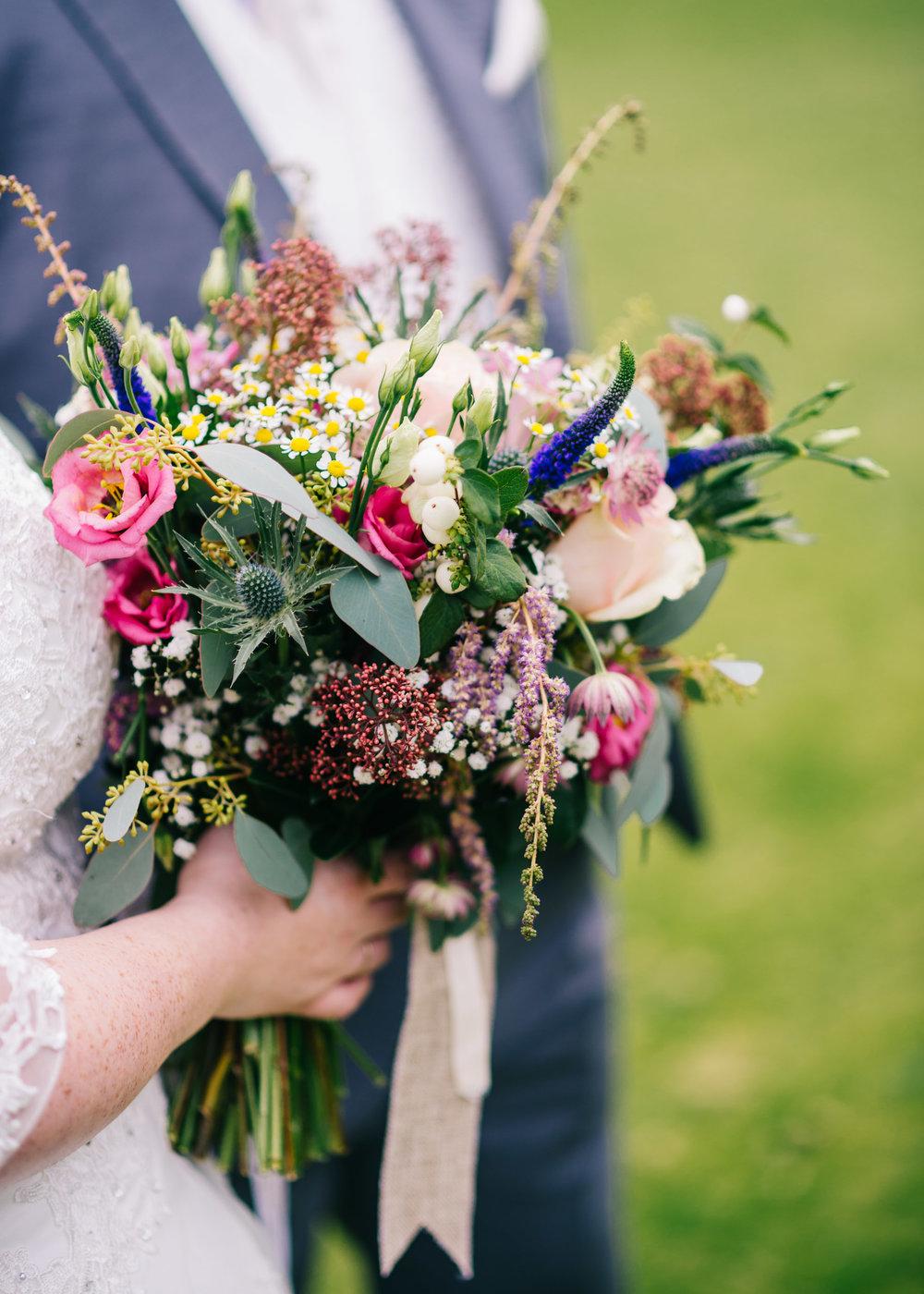 Wild flower & woodland theme wedding in manchester27