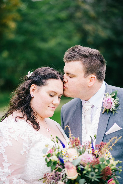 Wild flower & woodland theme wedding in manchester28