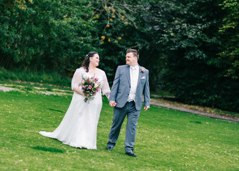 Wild flower & woodland theme wedding in manchester29