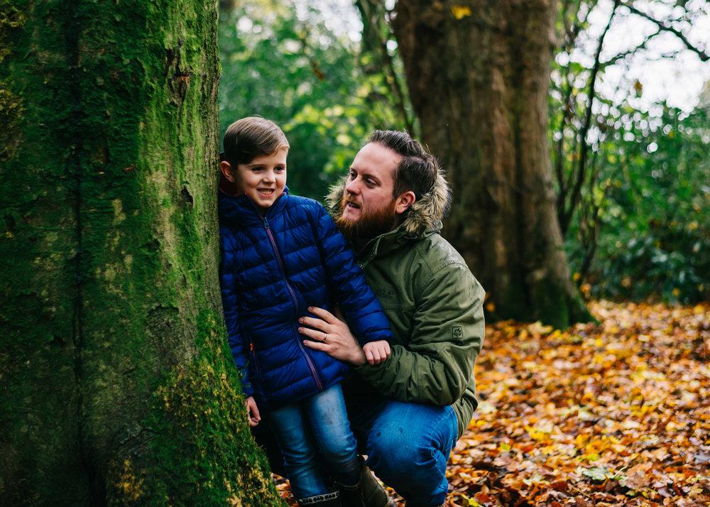 autumn mini session, Lancashire Towneley Park16