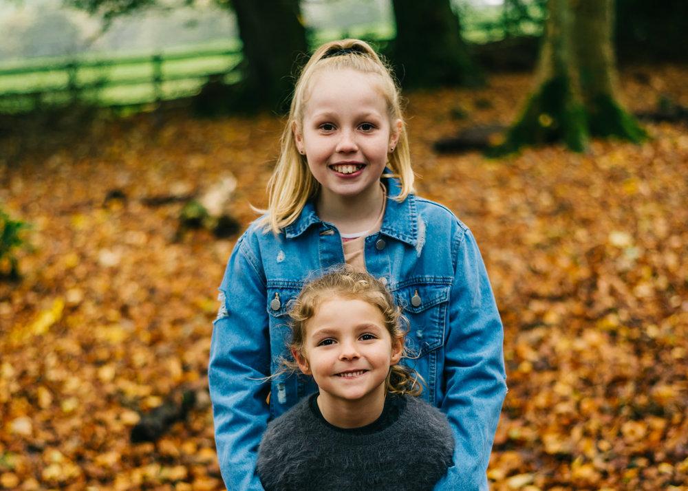 family session autumn mini at Towneley Park Lancashire