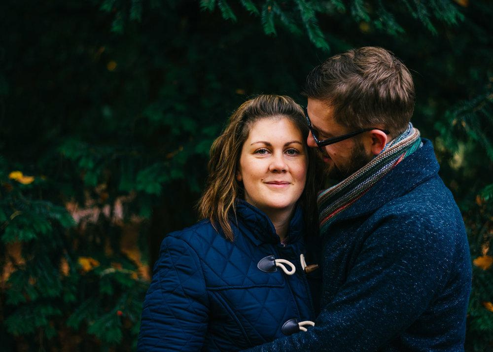 couples shoot towneley park