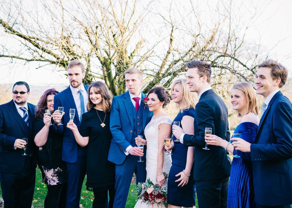 Shireburn Arms Wedding Hurst Green, Ribble Valley, Lancashire31