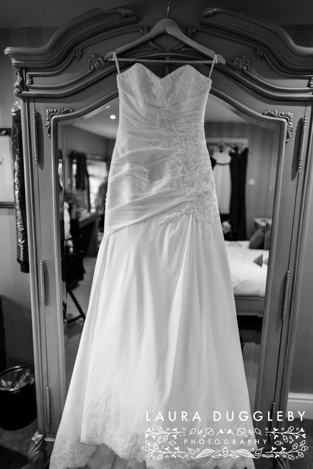 Brides Dress Shireburn Arms Wedding