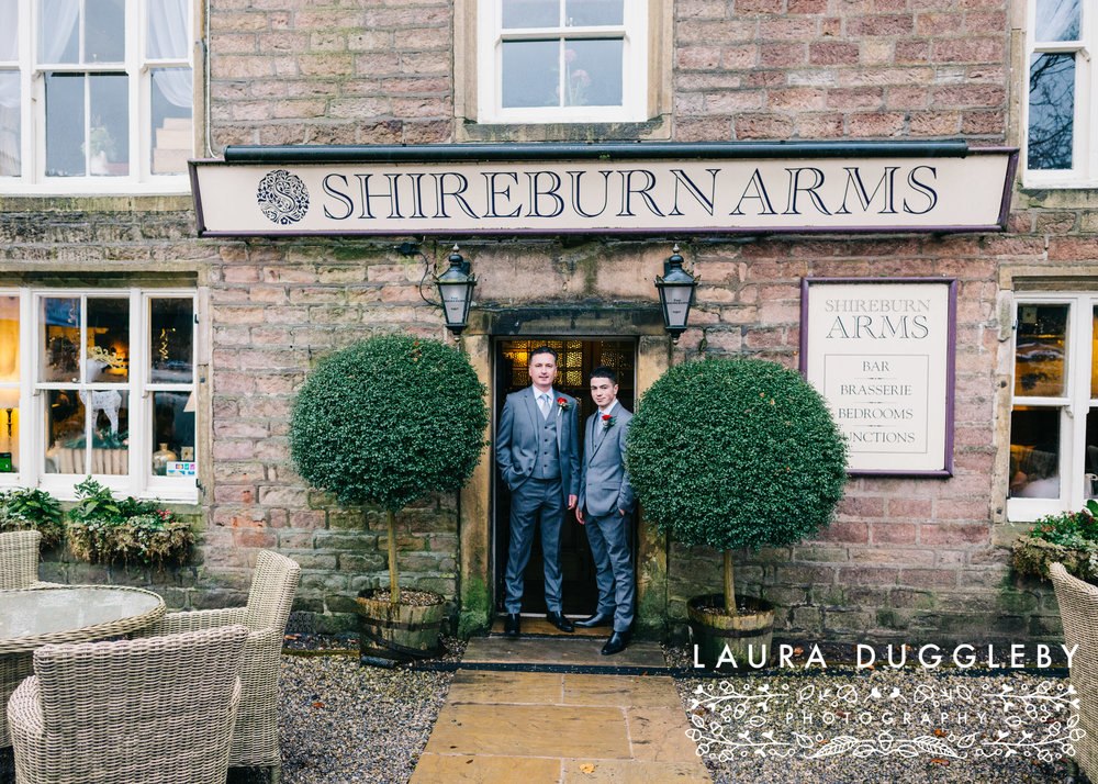 Winter Wedding Shireburn Arms Ribble Valley25