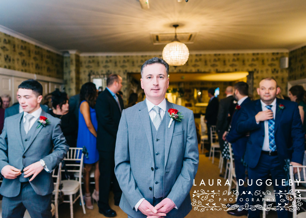 shireburn arms winter wedding ribble valley2