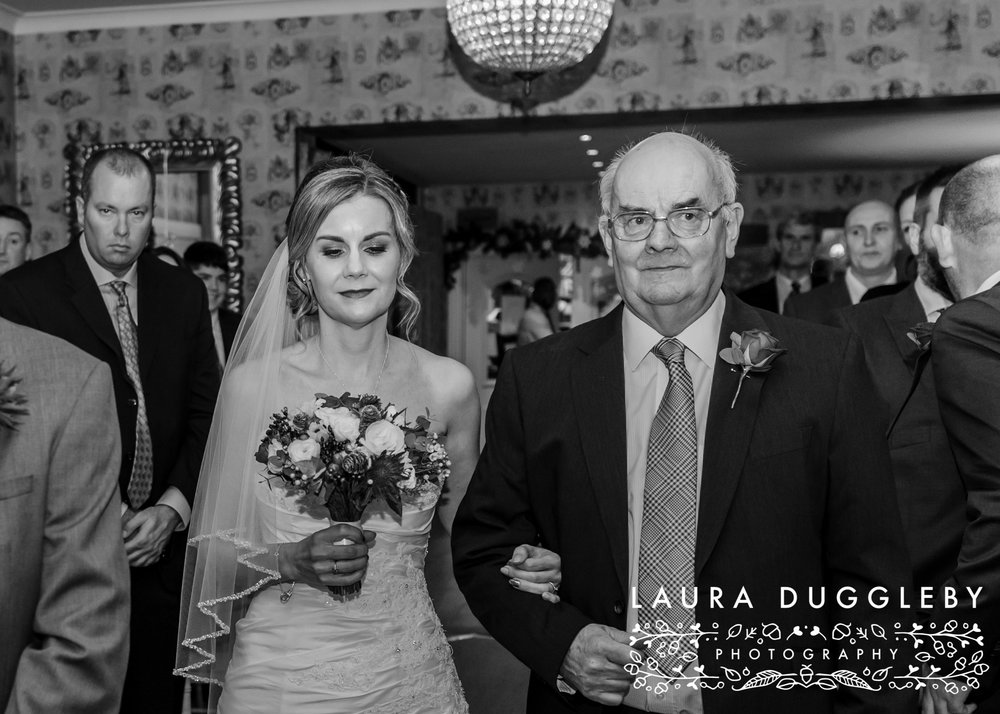 shireburn arms winter wedding ribble valley4