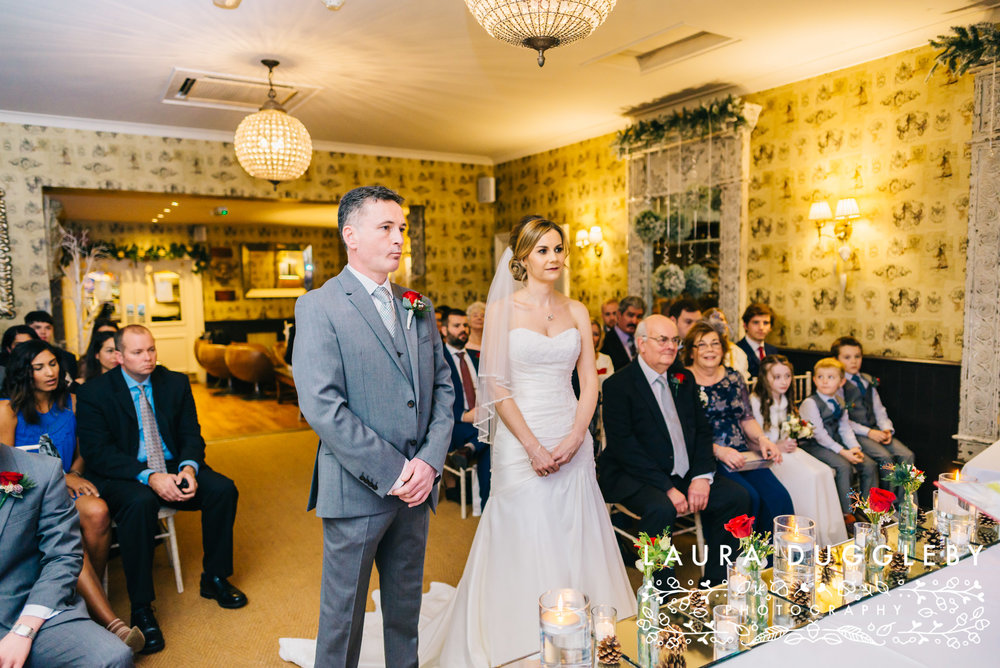 Wedding Ceremony At Shireburn Arms