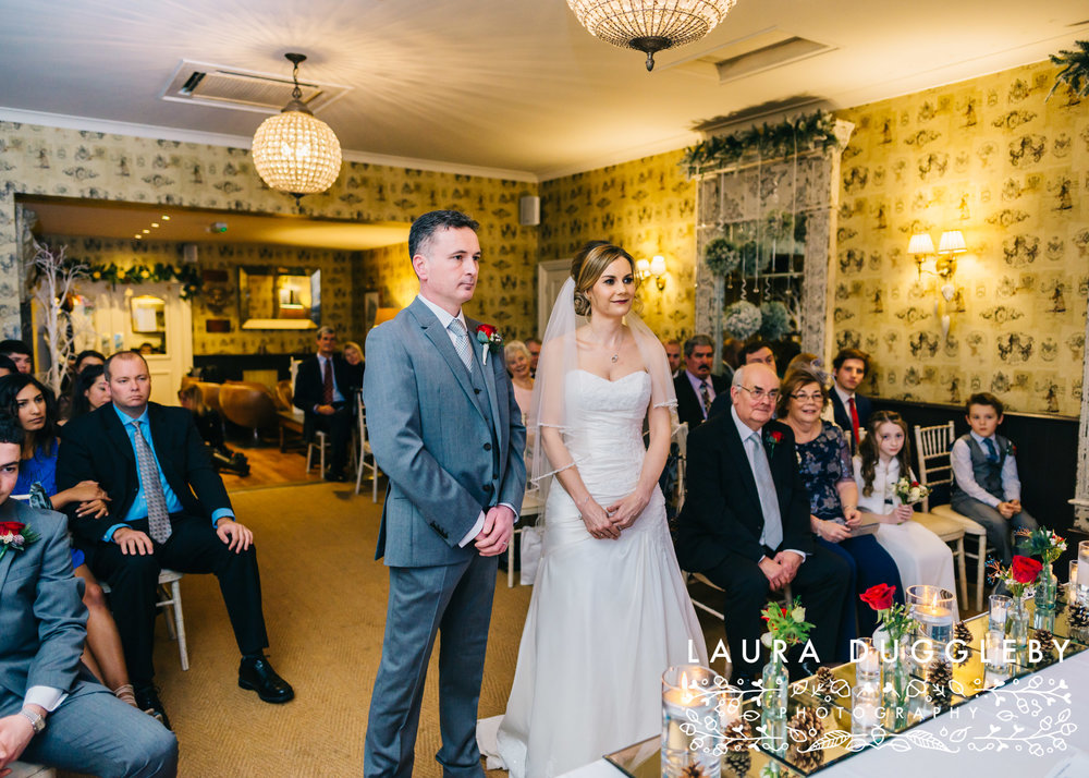shireburn arms winter wedding ribble valley9