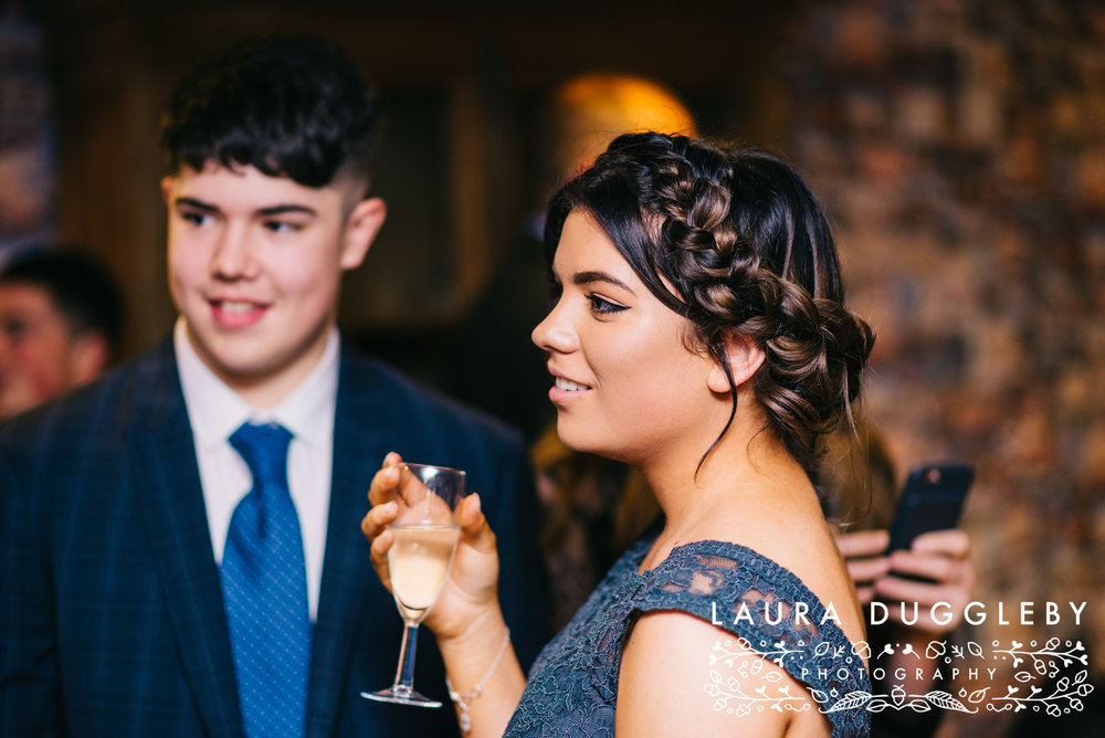 shireburn arms winter wedding ribble valley11