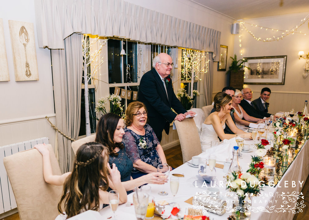 shireburn arms winter wedding ribble valley22