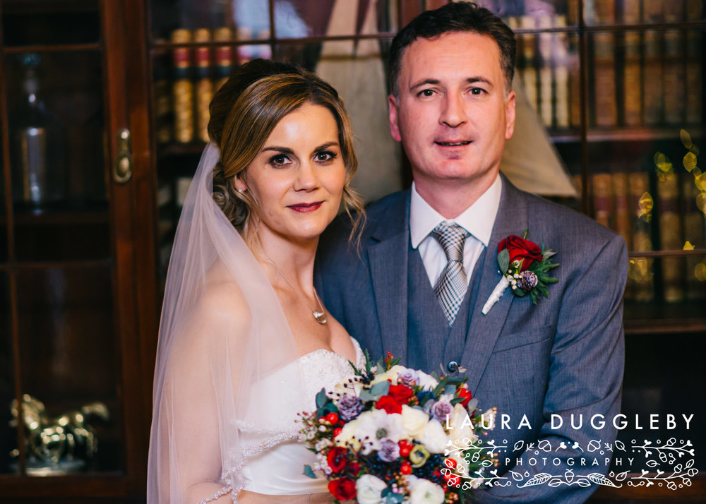 shireburn arms winter wedding ribble valley36