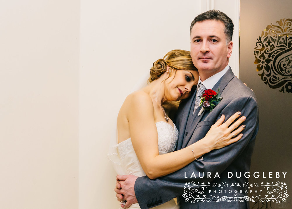 shireburn arms winter wedding ribble valley40