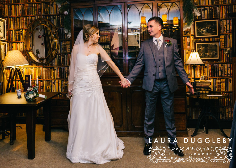 shireburn arms winter wedding ribble valley37