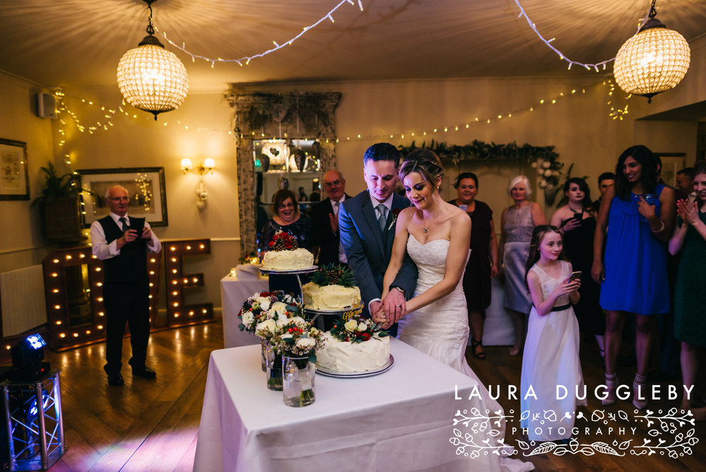 shireburn arms winter wedding ribble valley50