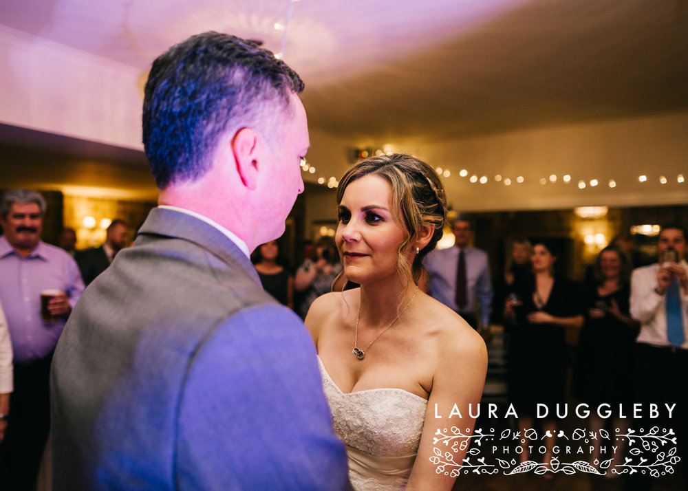 Shireburn Arms Winter Wedding Dancefloor