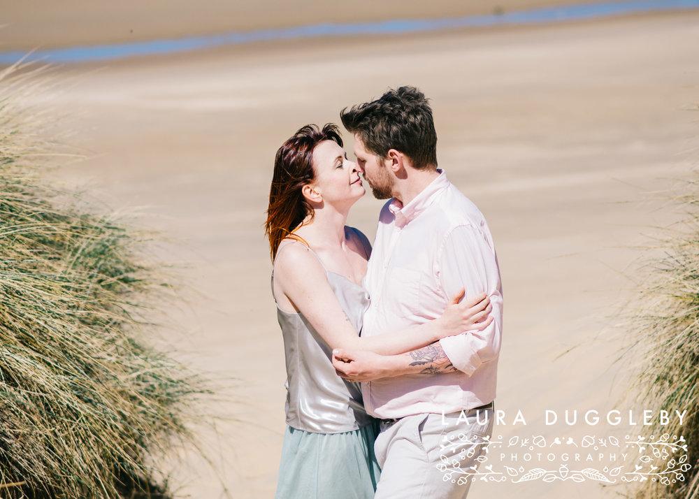 Formby Beach Lancashire Engagement Shoot-16.jpg