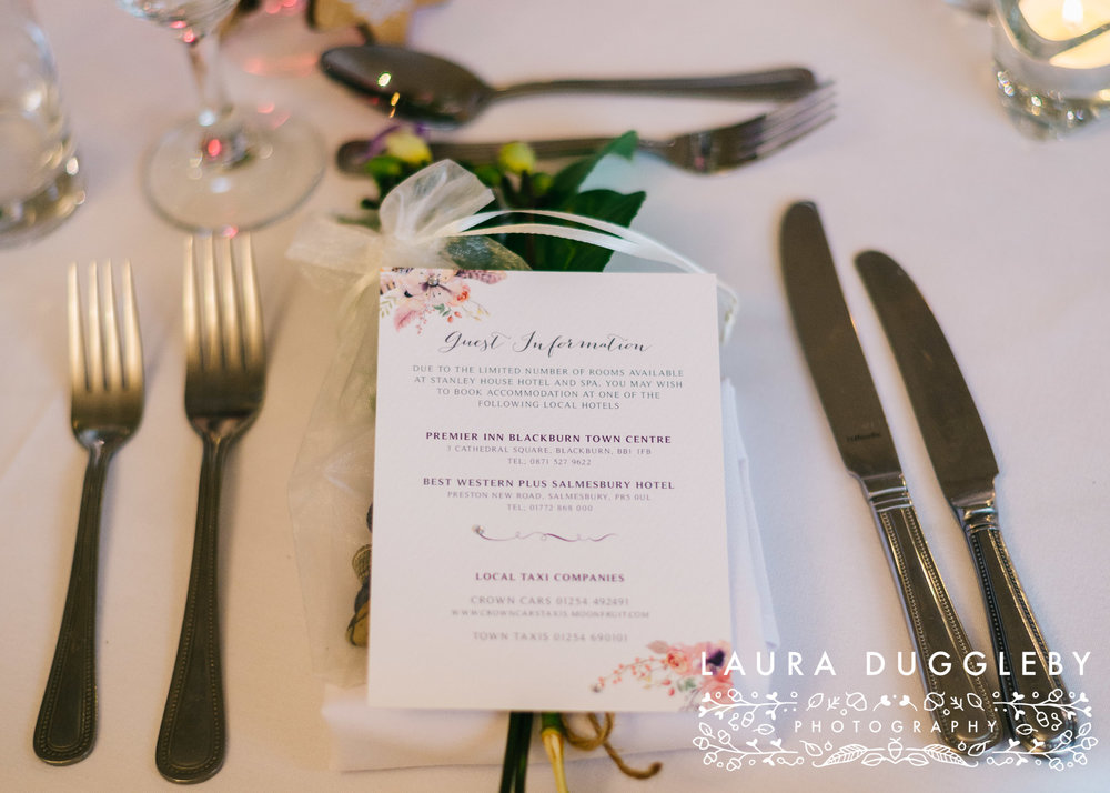 rossendale wedding photographer - styled shoot at Sparth House Accrington